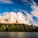 Amazing cloud formation at Lake Manapouri in New Zealand by Danielasphotos
