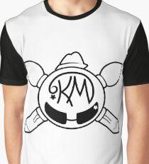 Katie MacKenzie Art & Design - White Logo Graphic T-Shirt