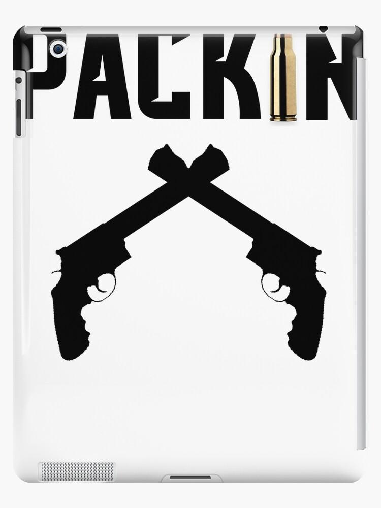 Packin Pistol Bullet Shirt by nojoketyler