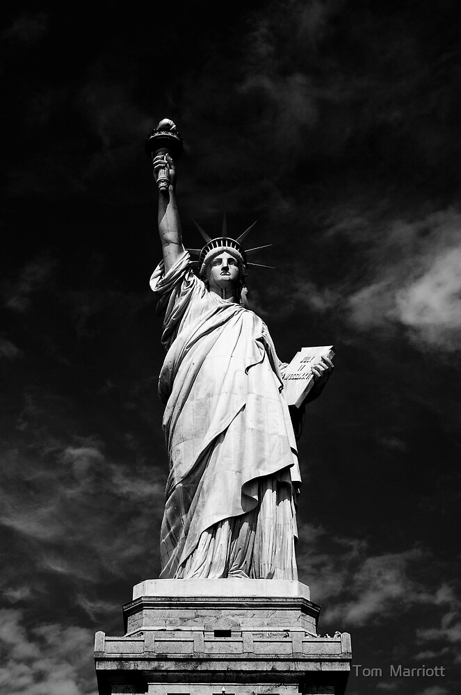 Statue of Liberty by Tom  Marriott