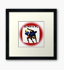 The  Will to Win Framed Print