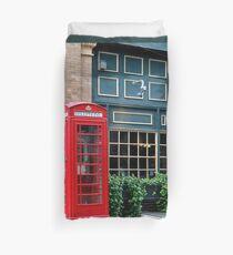 Red Telephone Box Duvet Cover