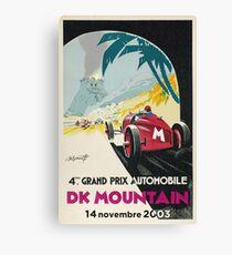 DK Mountain Grand Prix Canvas Print