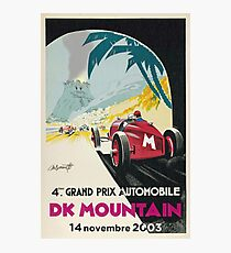 DK Mountain Grand Prix Photographic Print