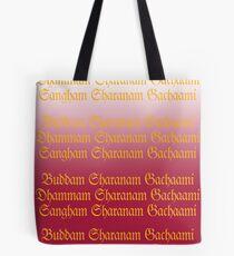 Buddam, Dhammam, Sangham Tote Bag