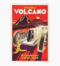 Grumble Volcano Grand Prix Photographic Print