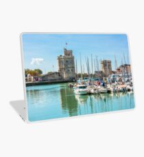 Yachts in the old port of La Rochelle  Laptop Skin