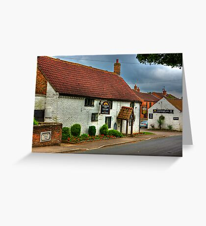 Horsebreakers Arms - Hutton Sessay. Greeting Card