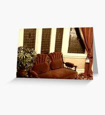 Sitting Room Greeting Card
