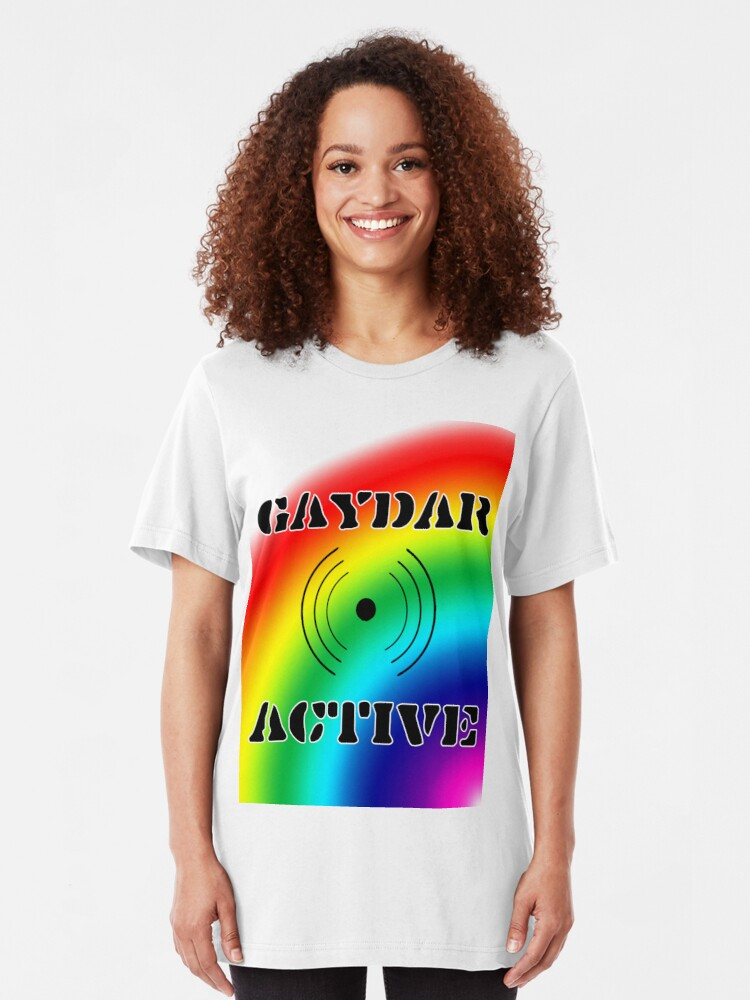 Alternate view of Gaydar Active I Slim Fit T-Shirt