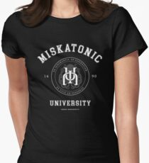 Miskatonic University [light] Women's Fitted T-Shirt