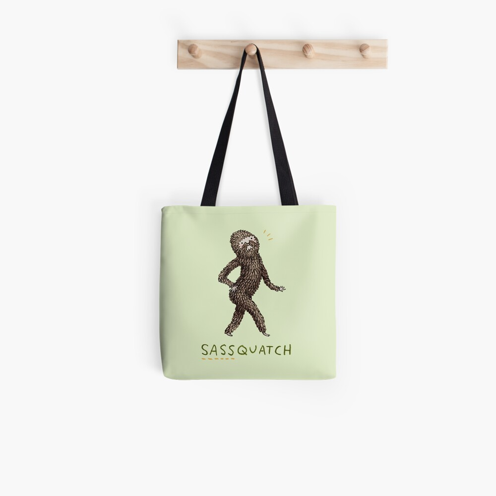 Sassquatch Tote Bag