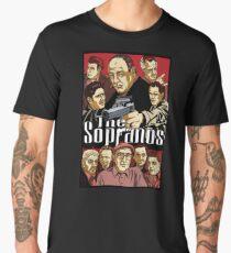mafia the sopranos crime tv show Men's Premium T-Shirt