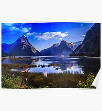 Milford Sound Queenstown  New Zealand  Poster