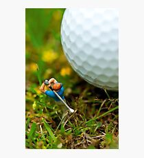 Fore! Photographic Print