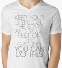 Keep Your Eyes on the Stars Mens V-Neck T-Shirt
