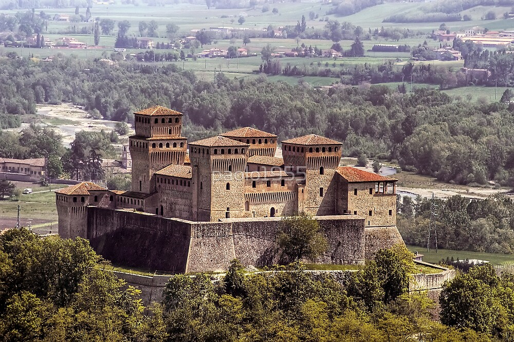 Quot Italian Castles Castle Of Torrechiara Quot By Paolo1955