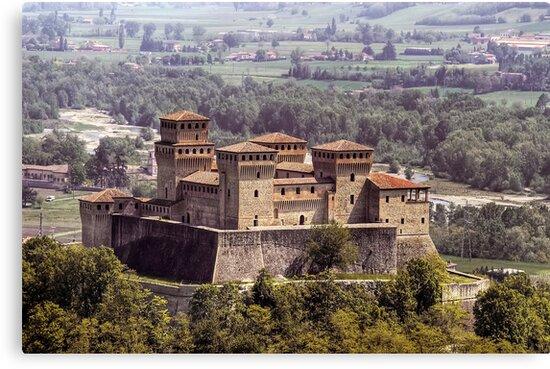 Italian Castles - Castle Of Torrechiara by paolo1955