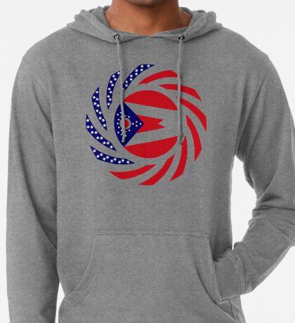 Ohio Murican Patriot Flag Series Lightweight Hoodie