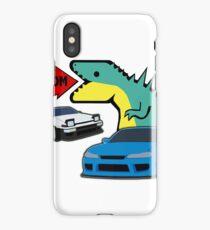 JDM dino & cars iPhone Case
