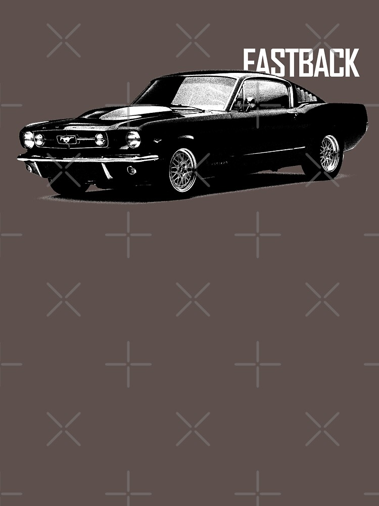 The 1965 Mustang Fastback by rogue-design