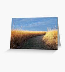 Path of Light Greeting Card