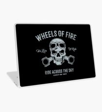 Wheels Of Fire... Laptop Skin