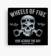 Wheels Of Fire... Canvas Print