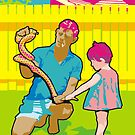 Snake Man by Bloomin'  Arty Families