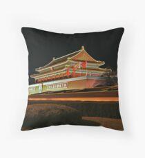 0117 - Beijing Tiananmen Square Throw Pillow