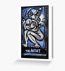 'The Artist' Greeting Card