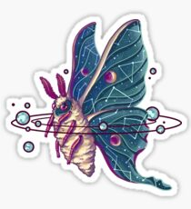 Space Moth Sticker