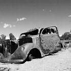 Perfect Sweet Sixteen Car (black & white) by Appel