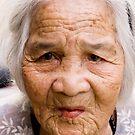 Elderly Vietnamese Lady by Kerry Dunstone