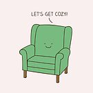 Cozy chair by Milkyprint