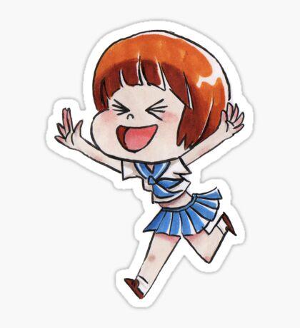 Chibi Mako Kill Sticker