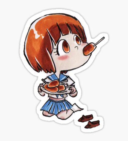 Mako chibi kill Sticker