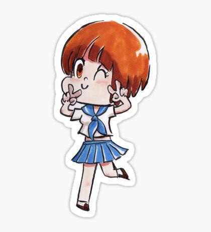 Chibi mako kill la kill Sticker