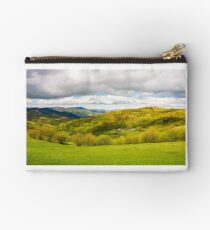 lovely rural scenery in mountains Studio Pouch