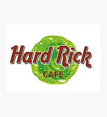 Hard Rick Cafe Photographic Print