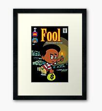 Little Horror Flicks - Fool Framed Print