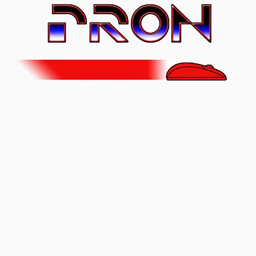 Porn/Tron in Red by Scissorman