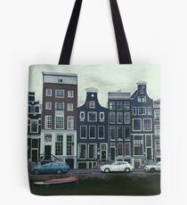Amsterdam Street Scene Tote Bag