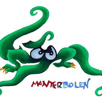 Making Friends (Monster detail) by Manter-Bolen