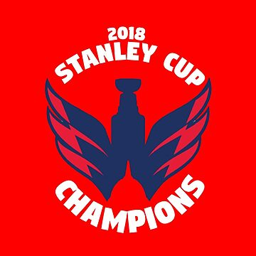 Washington Capitals Stanley Cup Champions by mymainmandeebo