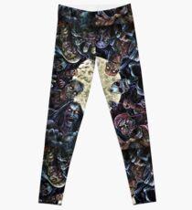 Zombies Attack (Zombie horde) Leggings