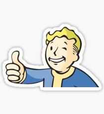 Pegatina Etiqueta adhesiva Fallout 76