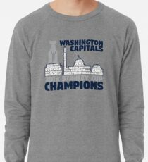 Washington Capitals 2018 Stanley Cup Champions Roster in City Skyline  Lightweight Sweatshirt 20e0d27f2