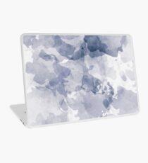 BLUE WATERCOLOR #minimal #marble #design #kirovair #decor #buyart #blue #design #elements Laptop Skin