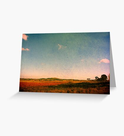 Dangars Lagoon, Northern Tablelands, NSW, Australia Greeting Card